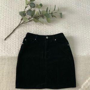 H&M corduroy miniskirt, size 4